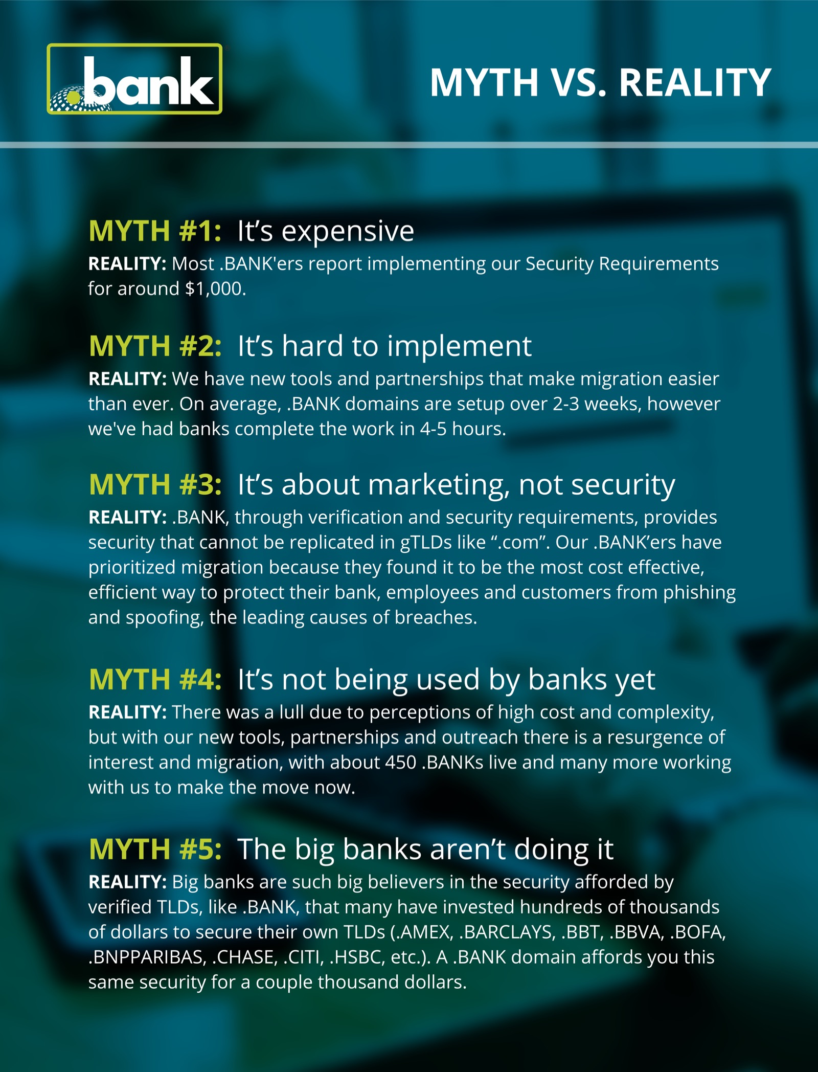 Myths flyer